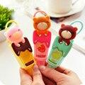 Frutado CuteTeddy Urso Portátil Desinfetante para as mãos Garrafa Reutilizável Leave-in de Sabão Líquido Acessórios Do Banheiro