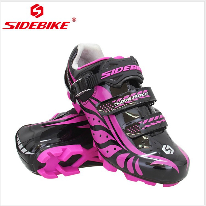 SIDEBIKE Women MTB Shoes Cycling Anti-slip Breathable Adjustable Bike Shoes Zapatillas Ciclismo Bicycle Road Bike Cycling Shoes цена