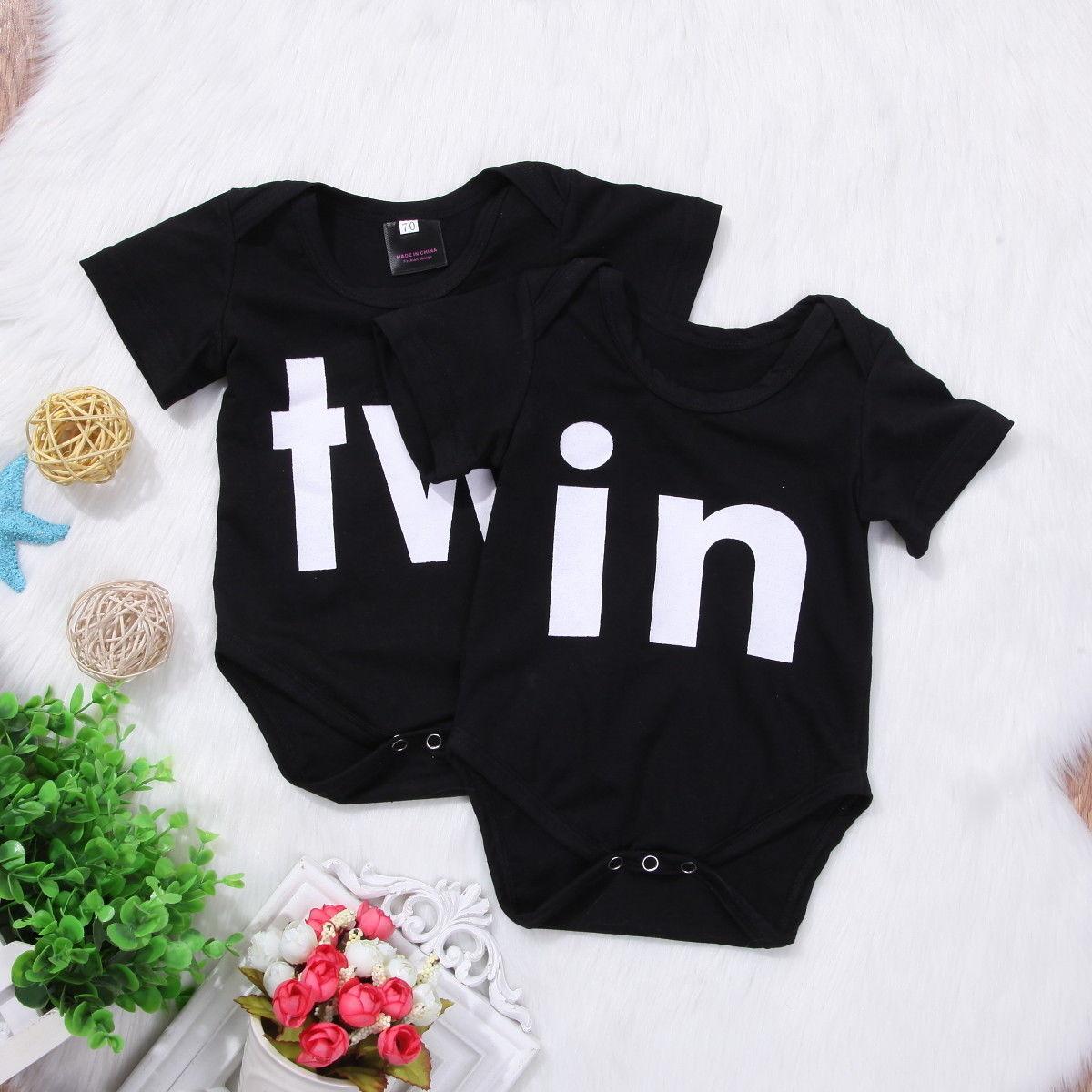 010109f67a8c 2018 new lovely kid black bodysuit Newborn Infant Baby Boys Girls ...