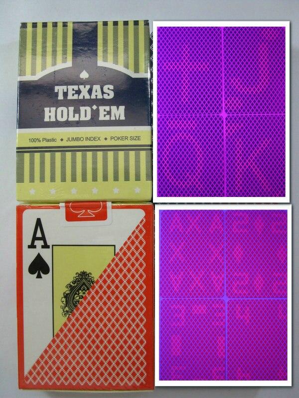 Magic poker home-Texas Perspective poker, plastic poker, cheat poker, casino cheating, glasses Poke,mark card, gambling, 88x63mm