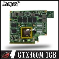 Asepcs G53JW N11 GS A1 GTX460M 1GB Graphics Card GPU For ASUS G53JW G73SW G53SW G53SX VX7 VX7S GTX 460 Laptop Motherboard Card