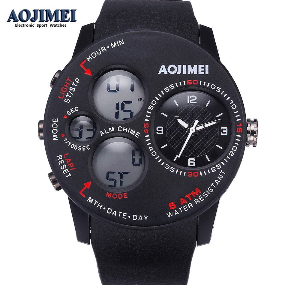 New Sport Watch Men Watches Top Brand Luxury Famous Electronic LED Digital Wristwatch For Male Clock Hodinky Relogio Masculino new listing yazole men watch luxury brand watches quartz clock fashion leather belts watch cheap sports wristwatch relogio male
