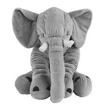 Ocday Kartun 60 Cm Besar Boneka Gajah Mainan Anak-anak Tidur Kembali Bantal  Bantal Gajah Boneka Hadiah Natal untuk anak-anak Bay. 0bce6c3b46