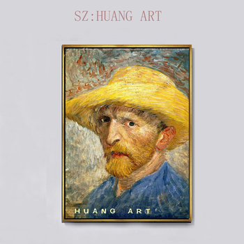 28/5000   Large frescoes. Hand-painted figures of famous van gogh himself. Decorated hotels and homes and cafes