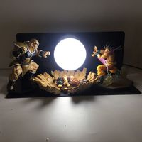 New Dragon Ball Three person Model Bombs Luminaria Led Night Light Holiday Gift Room Decorative Led Lamp In EU US Plug