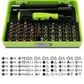 53 in1 Multi Tool Set Kit Ferramenta de Reparo de Ferramentas Manuais de Aço Caixa de Ferramentas Conjunto de precisão Chave De Fenda para Telefones Celulares Laptop PSP para rússia