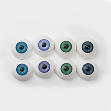 "Vivid Safety 20 mm Acrylic Eyes Used for 20"" Reborn Baby Doll Accessories Handmade 8 Colors Half Round Eyeball For Sale"