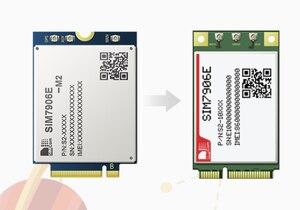 Image 5 - SIMCOM SIM7906E MINI PCIE SIM7906E M2 M.2 CAT6 4G LTE A 300M Multi Band LTE FDD/LTE TDD/HSPA + GNSS ไร้สาย M2M โมดูล