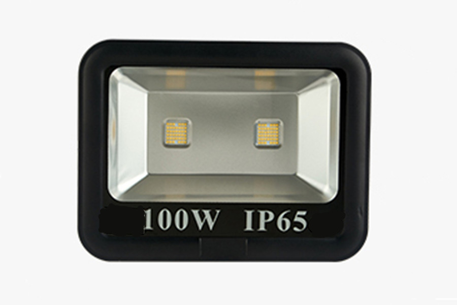 Led floodlight IP65 100W waterproof outdoor advertising signs light landscape building exterior wall high rod lamp