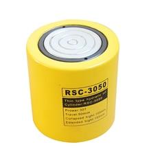 30 тонн короткий тип гидравлический цилиндр RSC-3050 ход гидравлического домкрата 50 мм нужно использовать с гидравлическими насосами