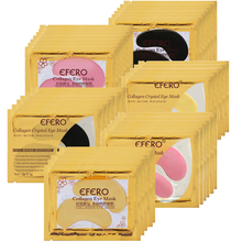 Collagen Crystal Eye Mask Gel Eye Patches Under the Eyes Care Dark Circles Remove Anti Wrinkle Cream Black Colageno Gel Eye Pads