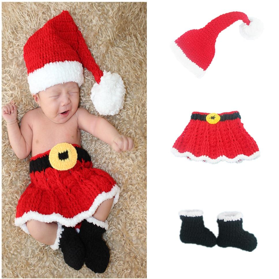 Spanish Christmas Party Kids Girls Ruffles Dress Outfits Infant Red Tartan Xams