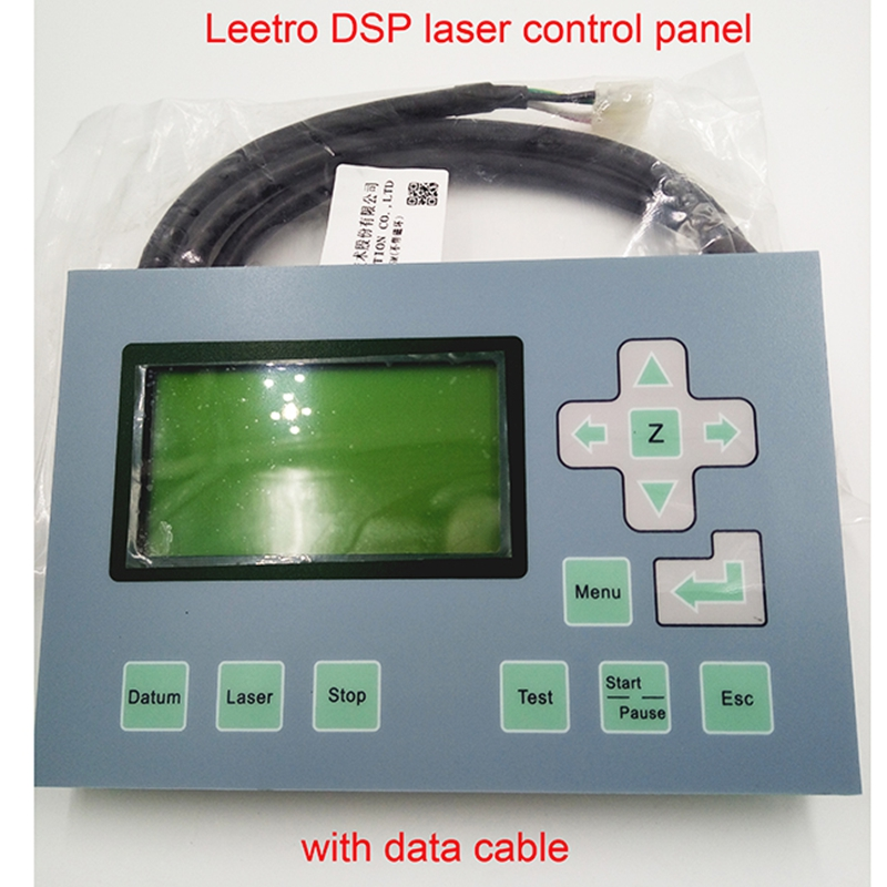 Hot Sale Free Shipping Leetro Display MPC 6525 Control Panel Used For Laser Engraver And Cutter Machine For Free