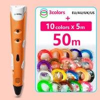 Myriwell 3 D Pen 3d Pens 10 5m Abs Filament Pla 1 75mm 3d Model Smart