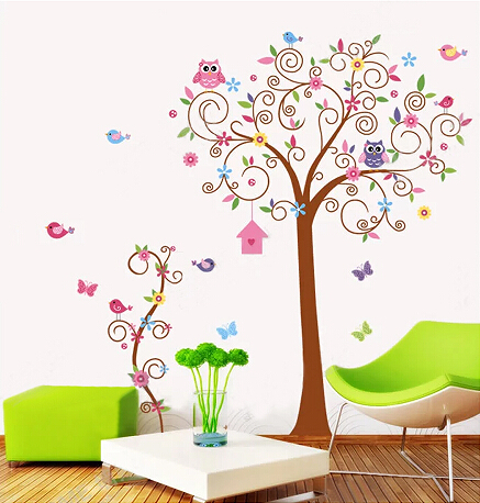 stickers muraux nursery wall decal children wall decal baby girl wall decal nursery wall art. Black Bedroom Furniture Sets. Home Design Ideas