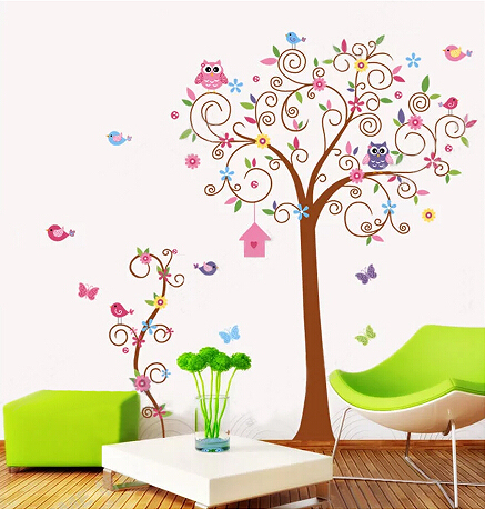 stickers muraux Nursery Wall Decal,Children Wall Decal,Baby Girl ...