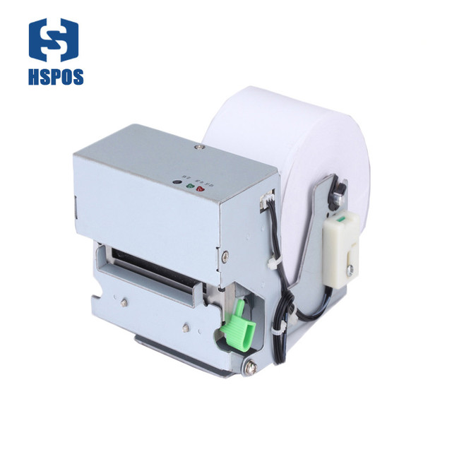 Thermal 58mm kiosk printer with auto cutter on self-service terminals locker project receipt printer
