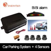 Universal Car LED Bi Bi Alarm Parking Sensor With 4 Sensors Cars Sensor Reverse Assistance Backup