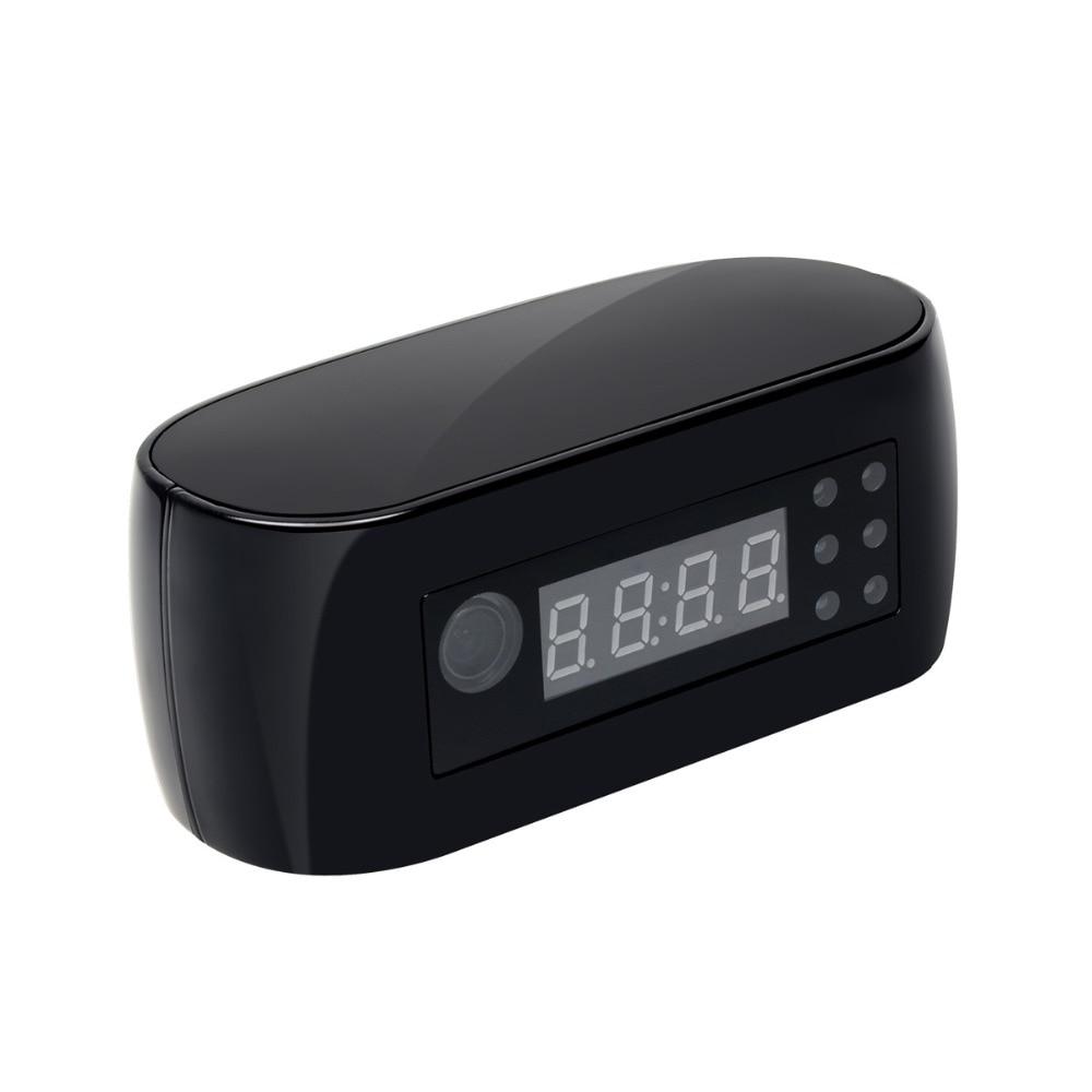 Volemer HD 1080P Table Clock Camera Mini Camera WIFI Camera Wireless P2P IP Cameras Night Vision Support IOS/Android PC