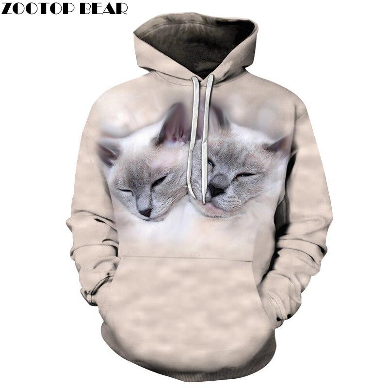 3D Printed Sleepy Cats Hoodies Men Women Sweatshirts Hooded Pullover Brand 6xl Qaulity Tracksuits Boy Coats Fashion Outwear New