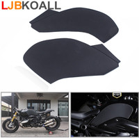 For BMW R NINE T 2014 2017 Black Gas Tank Pad Traction Side Fuel Grip Decals Protector with 3M Adhesive Motorcycle Tank Stickers