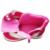 Calidad estupenda 1 pair Flor de Otoño MARCA Niños Botas Moda Bota, los niños de LA PU de Cuero Zapatos de Bebé de interior 13-16.2 cm