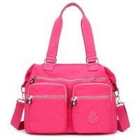 Women's Bag Waterproof Nylon Handbag Women's Messenger Travel Shoulder Bag Casual Crossbody Bags For Women 2019 Bolsas
