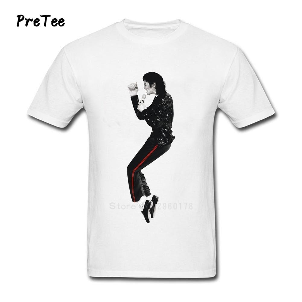 Black t shirt michaels - Michael Jackson T Shirt Uomo 100 Cotone Ragazzo Manica Corta Uomo Girocollo Ragazzo Tshirt Adolescenti