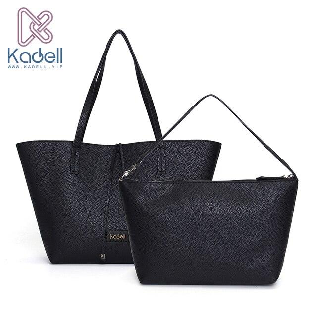 Kadell 2 шт./компл. роскошные сумки женские сумки дизайнер Bolsa feminina известных брендов Женская сумка Женская кожаная обувь сумки на плечо