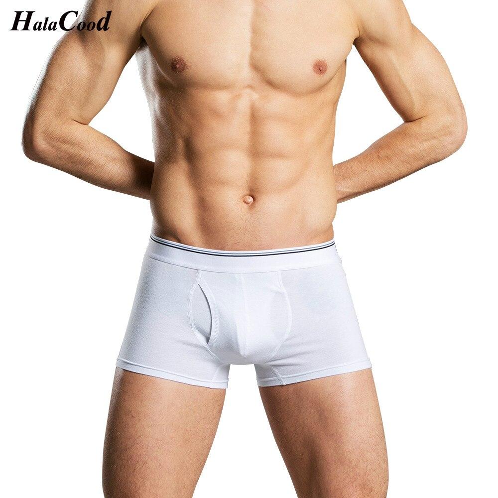 Male Panties Hot 2019 Cheap New Men's Boxers Shorts Fashion Sexy Comfortable Pocket Underwear Shape Cock Elastic Mans Underpants
