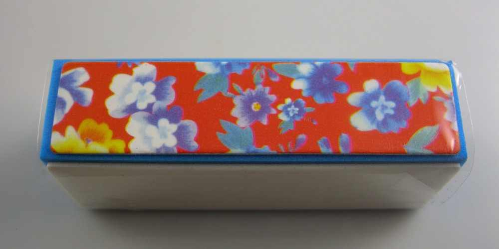 1 PZ Smeriglitatura File Block Nail Art Bellezza 4 Way Shiner Tampone