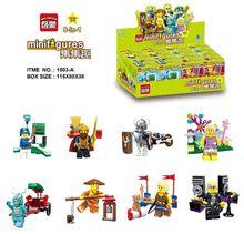 Enlighten 1503A 8pcs/lot King Knight Series Fairy Star Skeleton Warrior Monk Building Bricks Kids Toys Gift Compatible Legoings