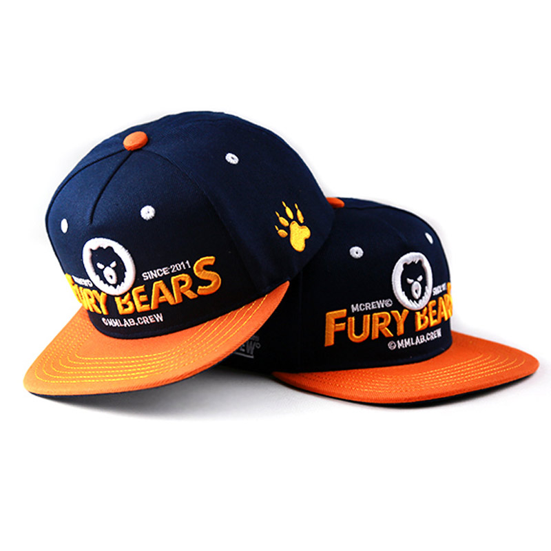 New 2017 Unisex Top Quality Fury Bears Baseball Cap Snapback Casual Gay Cap Fashion Bear Paw Hip-Hop Hat Circumference: 57-62 cm жидкость besso vape fury gum new 30мл 0мг
