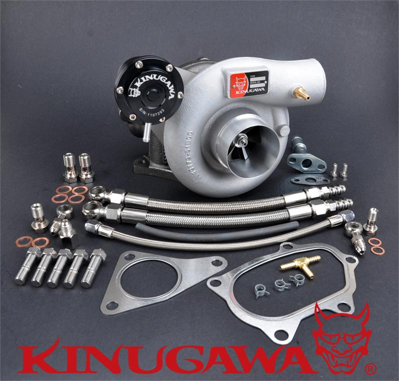 Kinugawa Billet Turbocharger 2 4 quot TD06SL2 60 1 8cm for SUBARU WRX STI Bolt On in Turbo Chargers amp Parts from Automobiles amp Motorcycles
