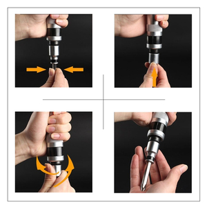 Image 4 - KALAIDUN Impact Driver Cacciavite Set 13 Pcs Ratchet Bit Kit Esagonali Torx Bit Maniglia Spade Heavy Duty Shock Presa di Vite