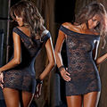 Sexy Women Plus Size Lace Babydoll Underwear Lingerie Dress Sleepwear Nightdress Big Size