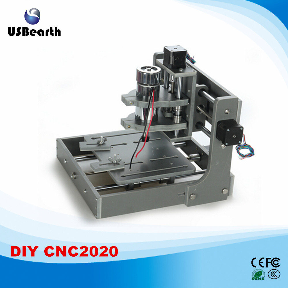 Newest version Mini CNC router machine 2020 with Parallel port wood lathe mini cnc router machine 2030 cnc milling machine with 4axis for pcb wood parallel port