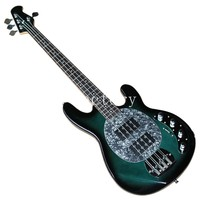 4 Strings green Electric Bass Guitar Rosewood Fingerboard,Chrome Hardware,Offer Customized