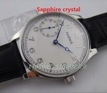 Сапфировое стекло 44 ММ PARNIS ST3600 гусиная шея движение руки цепь механические ЧАСЫ мужские часы оптовая 315