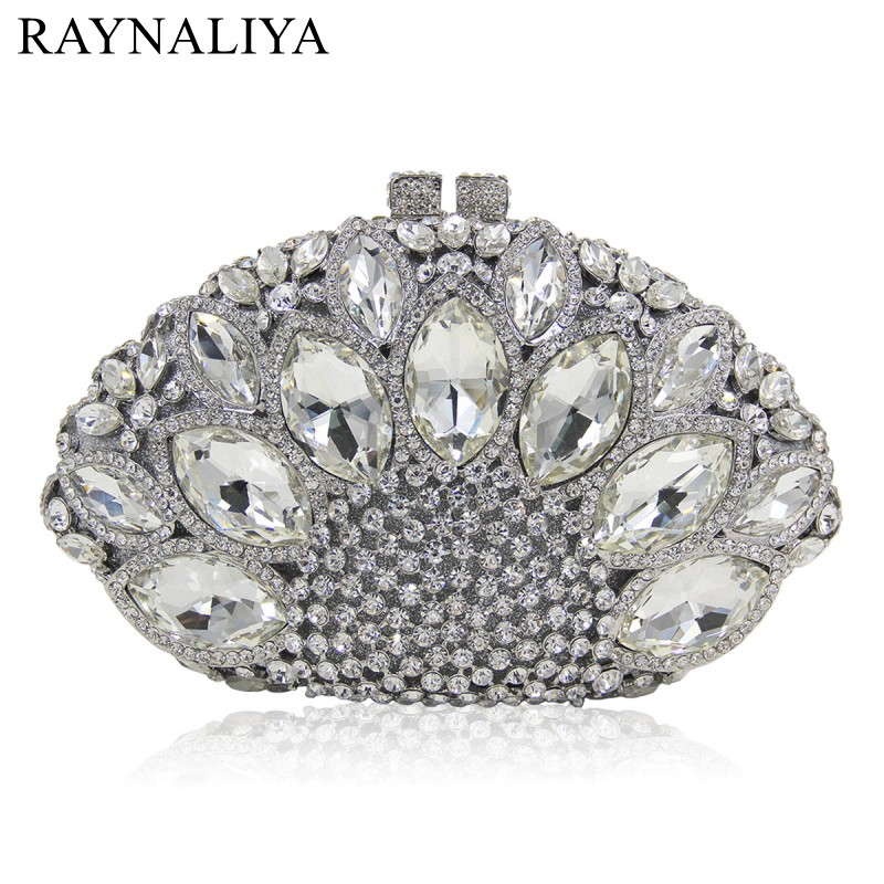New Arrivel Ladies Gold Stone Crystal Purses Women Luxury Evening Bags Female Party Clutches Purses Top Quality SMYZH-E0054 designer crystal day party clutches evening purses high quality new fashion agate luxury handbags women bags smyzh e0055