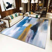 Modern minimalist living room carpet Nordic ins geometric pattern floor mat home carpet living room floor carpet