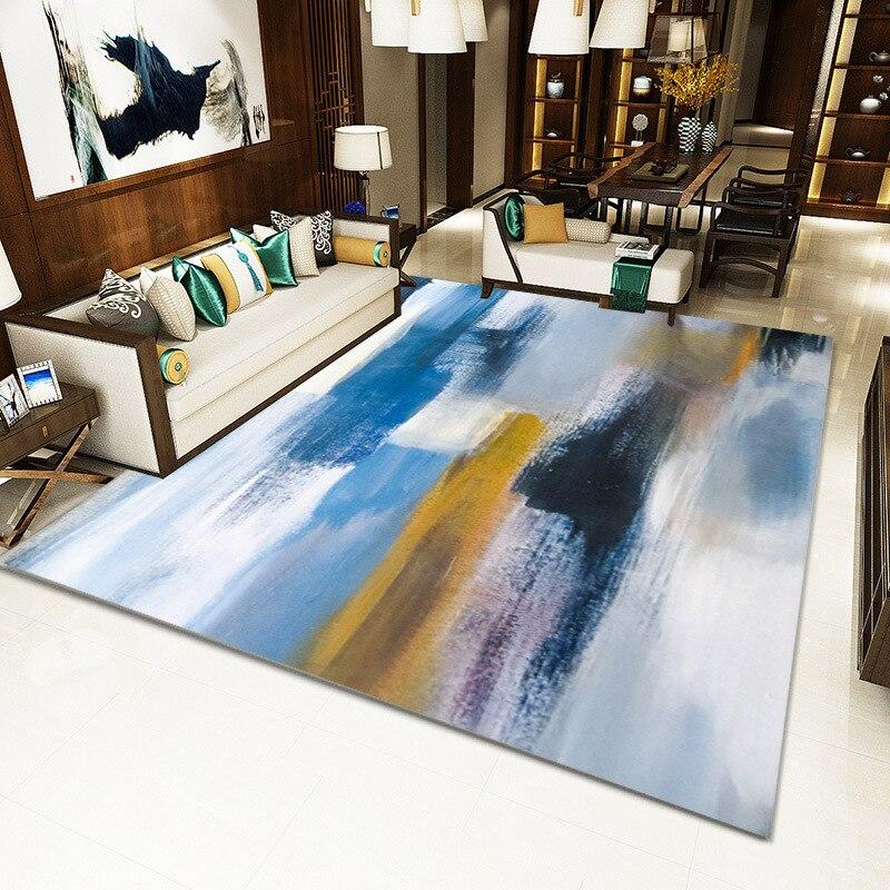 Moderne minimaliste salon tapis nordique ins motif géométrique tapis de sol maison tapis salon sol tapis