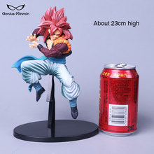 23cm Dragon Ball Z Goku action figure PVC collection model brinquedos toys for Christmas gift have the base 24cm pvc deadpool action figure breaking the fourth wall scene dead pool kids birthday christmas model gift toys