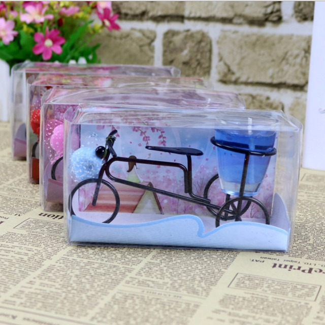 Bicycle Jelly Candles