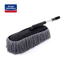 Автомобилей чистые инструменты стирка Duster очистки грязь пыль чистой щеткой удаление пыли 73*16 см автомобиль кисти воск перетащить выдвижной Швабра мытья Швабра
