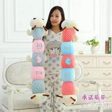 100cm Caterpillar pillow cute plush toy long pillow sleep pillow insect doll birthday gift