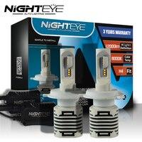 N1 H4 H7 H11 H1 9005 9006 H3 9007 COB LED Headlight 80W 12000LM All In