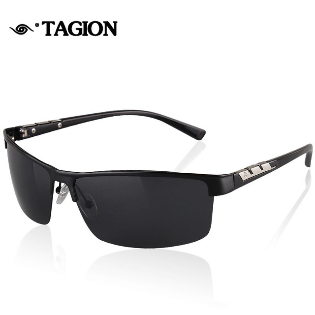 85461fd3b5d6 2016 Men Polarized Sunglasses High Quality Promotion Polarizing Man Glasses  Outdoor Sport Rimless Male Polaroid Eyewear 8998