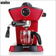 Xeoleo Эспрессо Машина Автоматическая Эспрессо кофеварка 15 бар кофе машина кафе чайник 700 Вт Бытовая Италия кофе