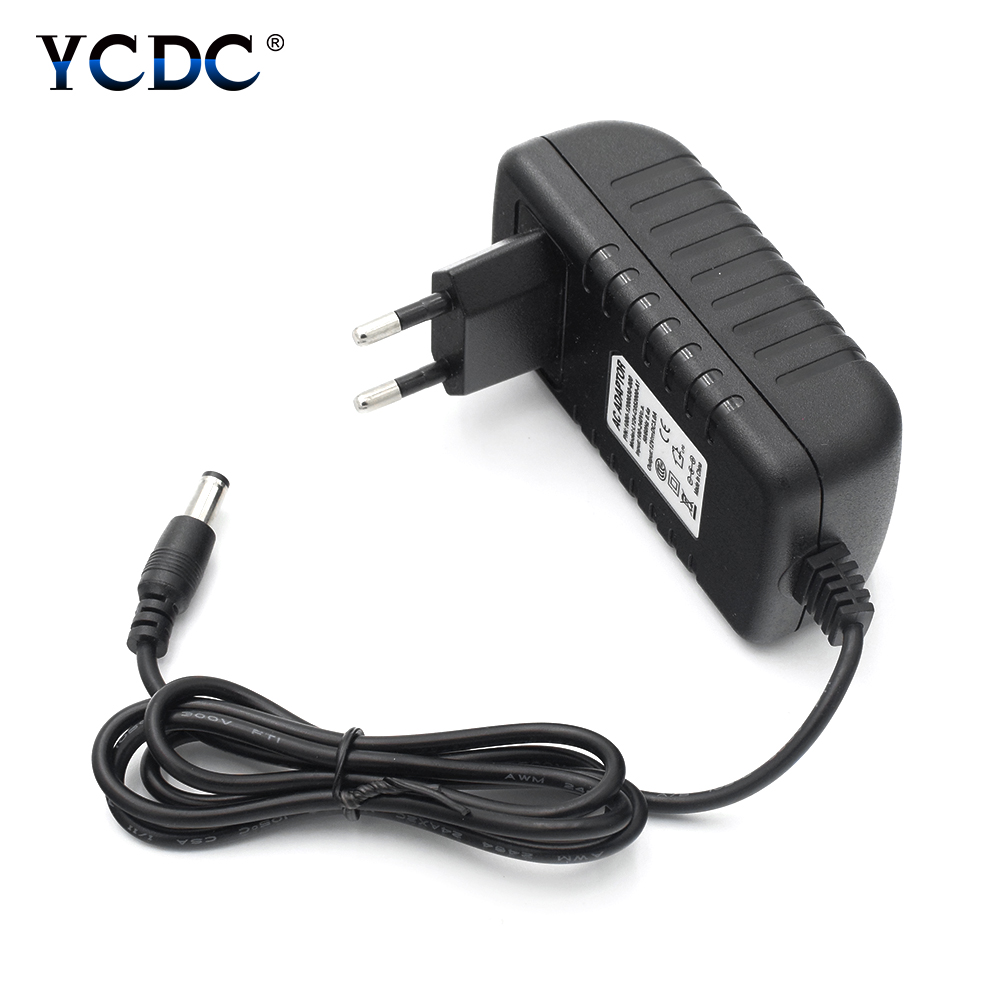 Practical Power Supply DC 12V 3A Power Adapter AC 100V-240V To DC 12 V Charger UK/AU/US/EU Plug Black ABS Shell peavey 15 v ac power supply euro plug